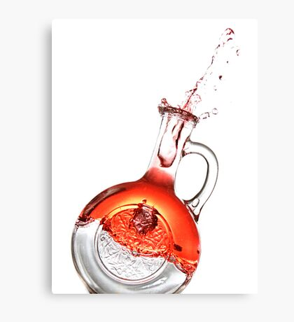 Bottled Red #2 Canvas Print