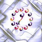 Clock Abstract -  Art + Products Design by haya1812