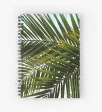 Palm tree leaves Spiral Notebook