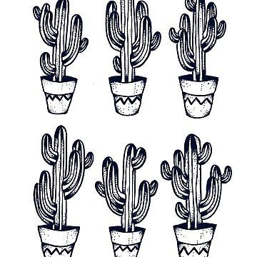 Cacti by ivyklomp