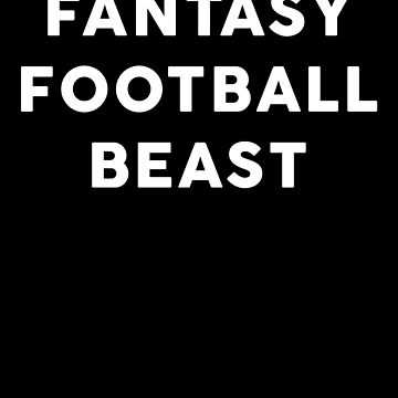 Fantasy Football Beast by with-care
