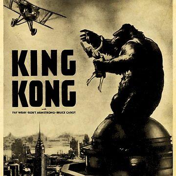 King Kong 1933 by furioso