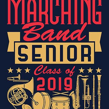 Marching Band Senior Class Of 2019 by jaygo
