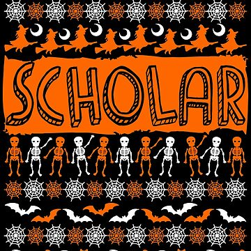 Cool Scholar Ugly Halloween Gift t-shirt by BBPDesigns