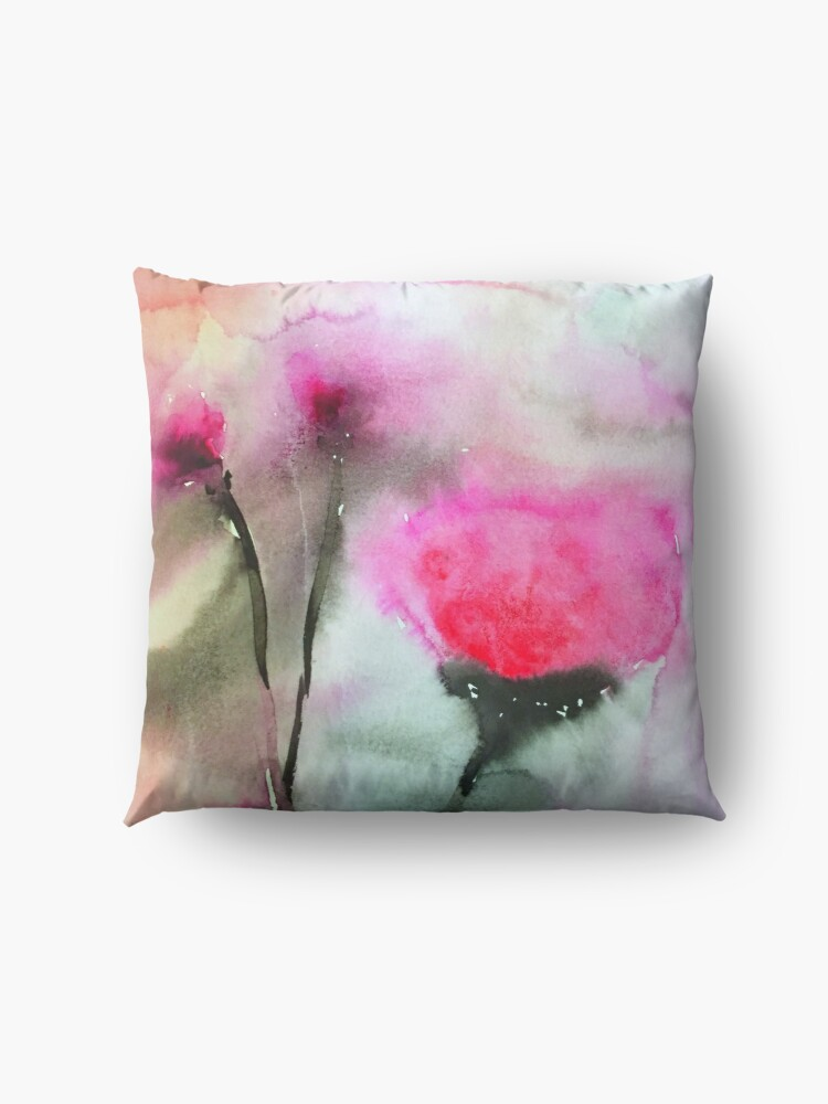 Alternate view of Bloom is Off the Rose Floor Pillow