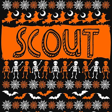 Cool Scout Ugly Halloween Gift t-shirt by BBPDesigns