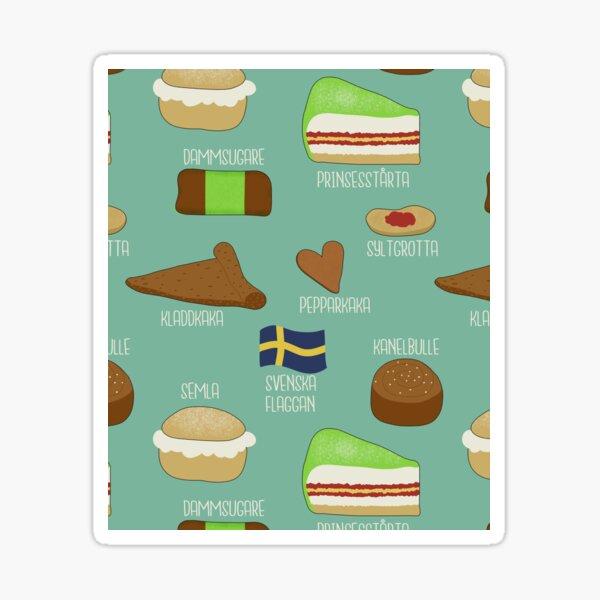 Swedish fika collection #2 Sticker