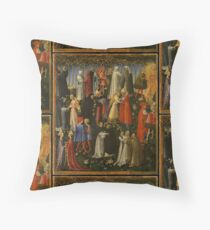 Paradise | Medieval  Representation of Paradise - On view at The Met Gallery 956 Floor Pillow