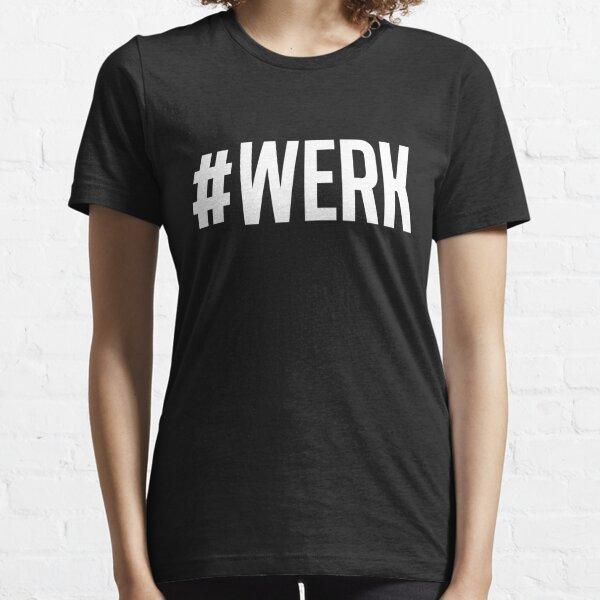 WERK black Essential T-Shirt