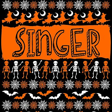 Cool Singer Ugly Halloween Gift t-shirt by BBPDesigns