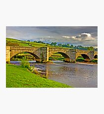Packhorse Bridge - Burnsall Photographic Print