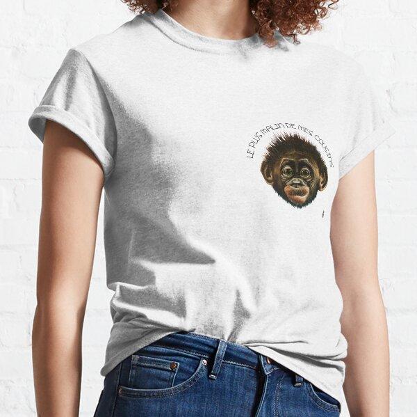 Le Plus Malin de mes cousins T-shirt classique