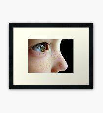 Angel Kisses Framed Print