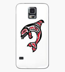 Orca Killer Whale Pacific Northwest Native American Indian Case/Skin for Samsung Galaxy