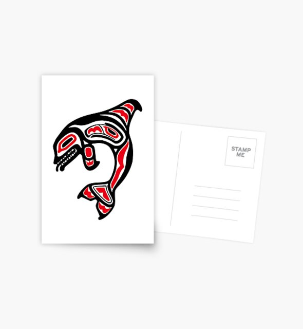 Orca Killer Whale Pacific Northwest Native American Indian by twizzler3b
