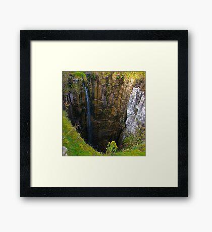 Pot Hole (Buttertubs Pass) Framed Print
