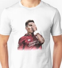 Roberto Firmino Pirate One Eye Celebration Unisex T-Shirt