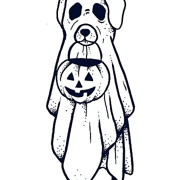 Spook Doggo by ivyklomp