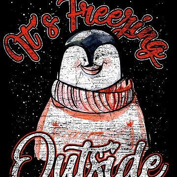 Penguins winter by GeschenkIdee