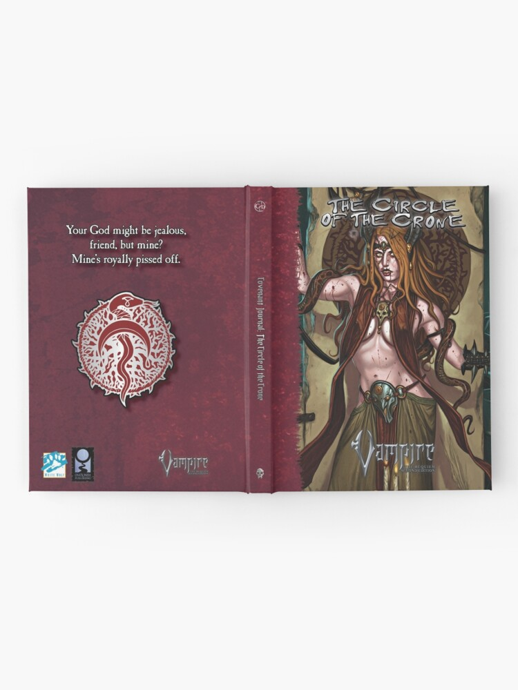 Alternate view of Requiem Covenant Art: Circle of the Crone Hardcover Journal