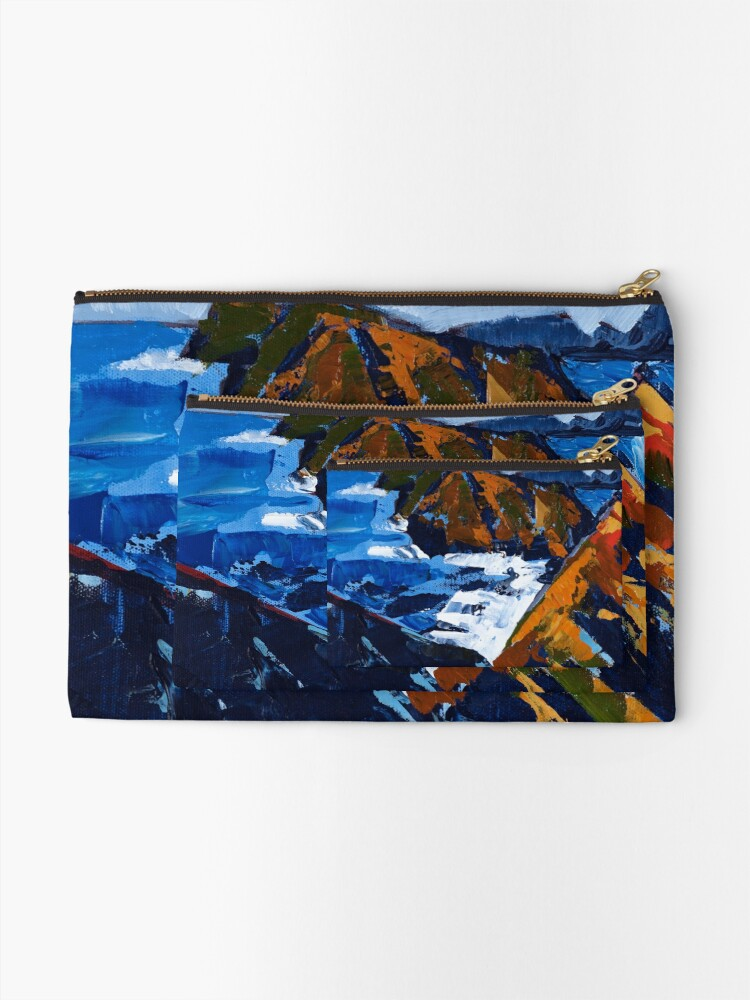 Alternate view of Rocky Surf Zipper Pouch