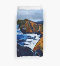 Rocky Surf Duvet Cover