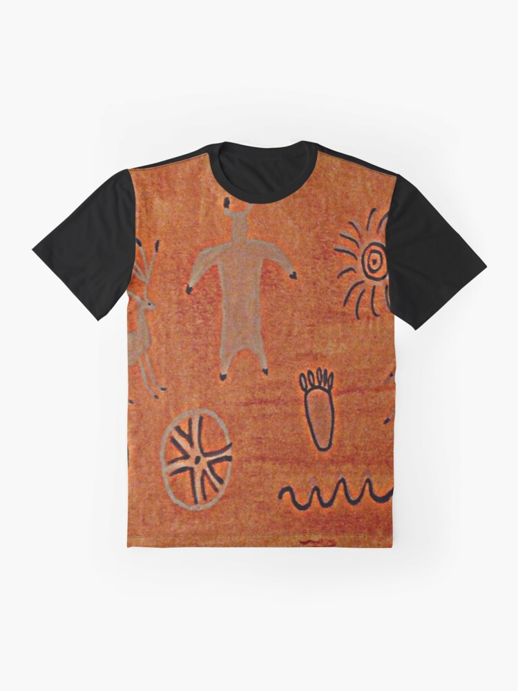 Alternate view of Petroglyph Graphic T-Shirt