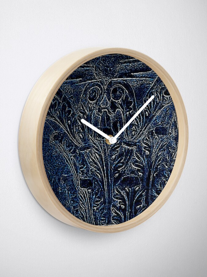Alternate view of Corinthian Clock