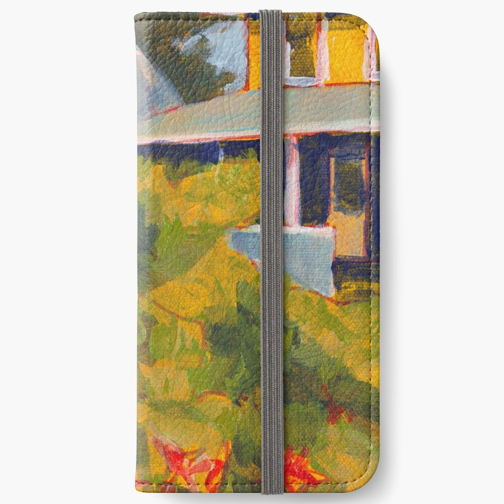 Buoys on a Telephone Pole iPhone Wallet
