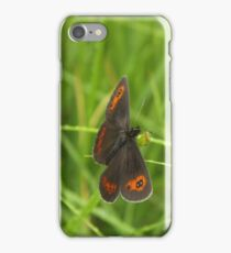 Scotch argus butterfly iPhone Case/Skin