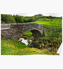 Packhorse Bridge - River Swale Poster