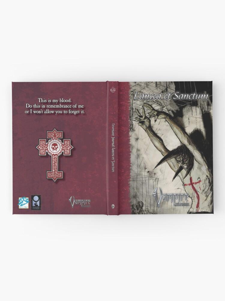 Alternate view of Requiem Covenant Art: Lancea et Sanctum Hardcover Journal
