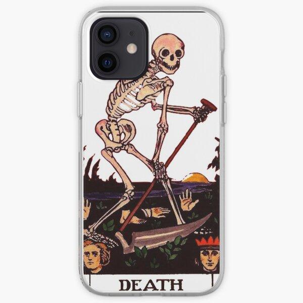 Death Tarot Card iPhone Soft Case