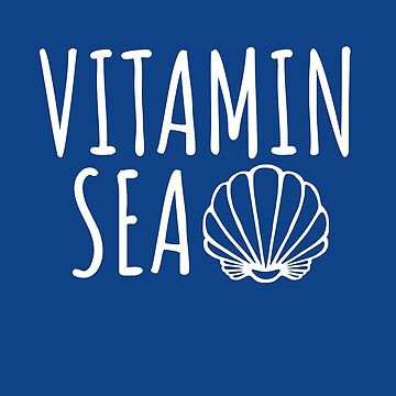 Vitamin Sea Shirt, Summer Beach by ShirtPro