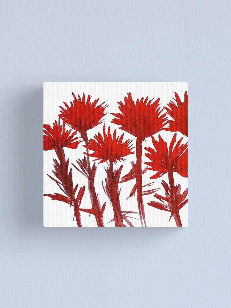 Alternate view of Indian Paintbrush  Canvas Print
