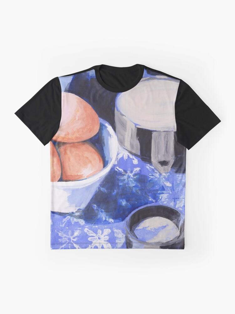Alternate view of Nonni's Recipe Graphic T-Shirt