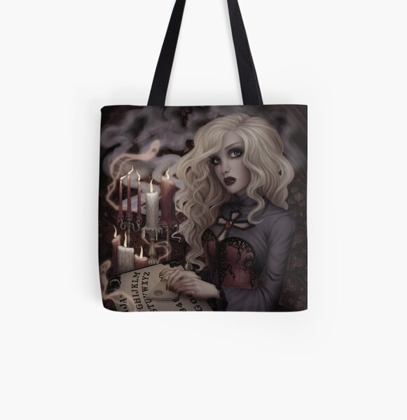 Voices from the Other Side All Over Print Tote Bag