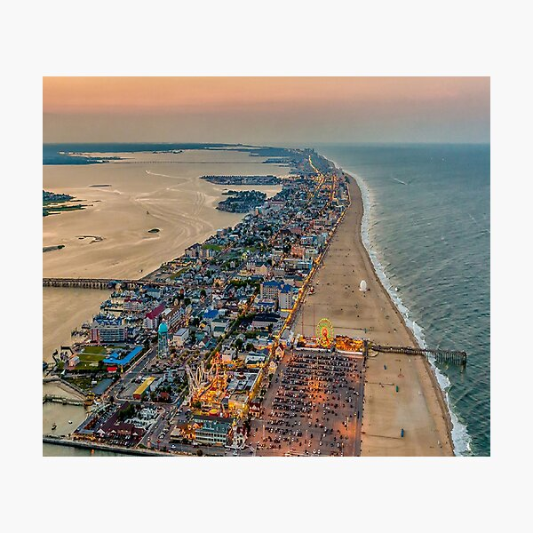 Ocean City Photographic Print