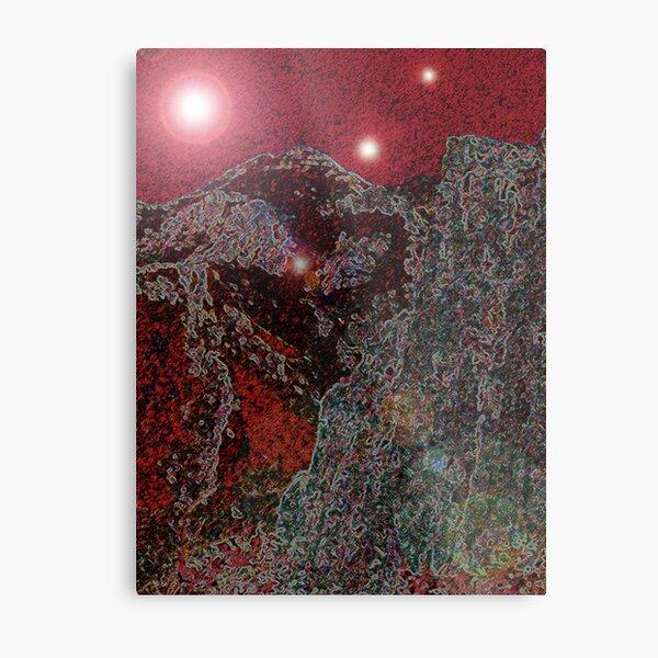 RED FANTASY Metal Print
