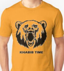 """Khabib Time"" Bear version Unisex T-Shirt"