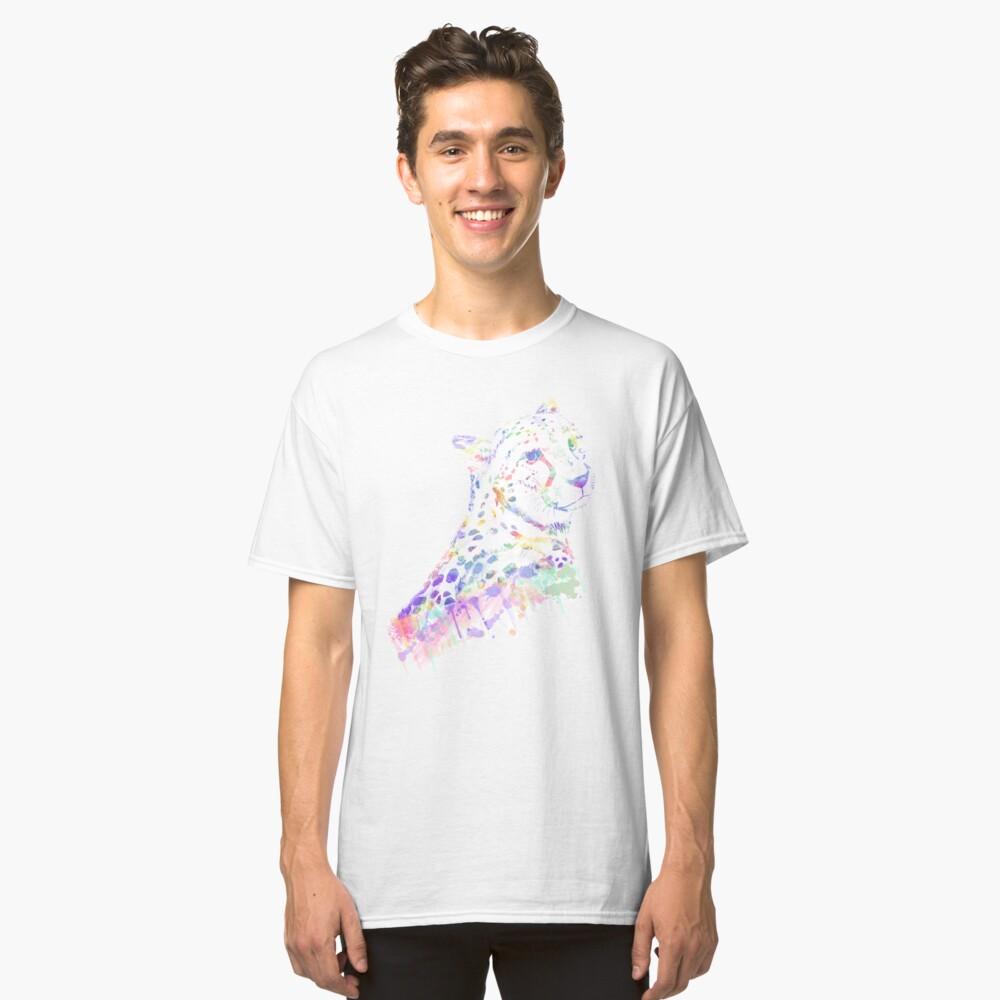 Aquarell Gepard Classic T-Shirt