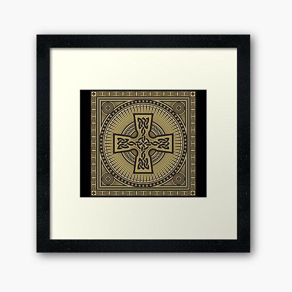 Celtic Cross Framed Art Print