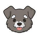 Schnauzer Face by ncdoggGraphics