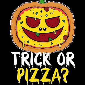 Pizza Pumpkin Halloween - Trick or Pizza? by propellerhead