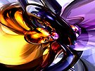 Alluring Grace Abstract by Alexander Butler