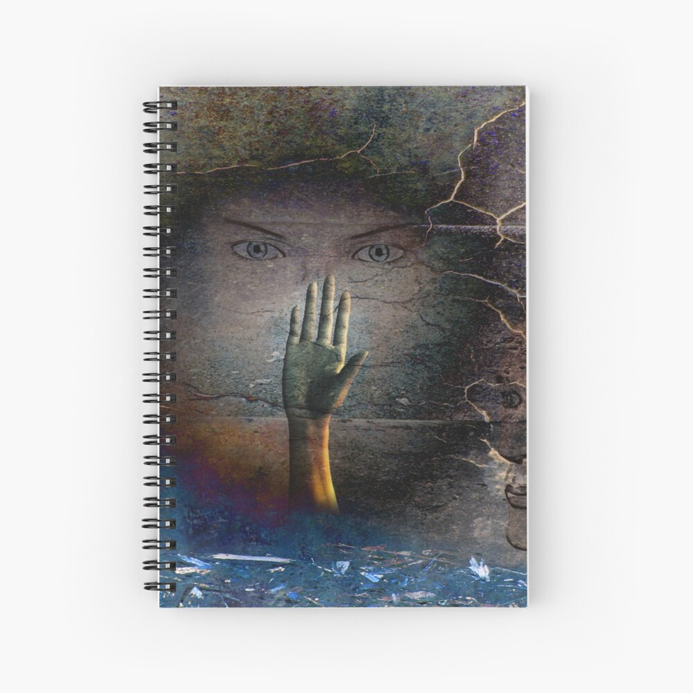 Remembrance of Night Spiral Notebook