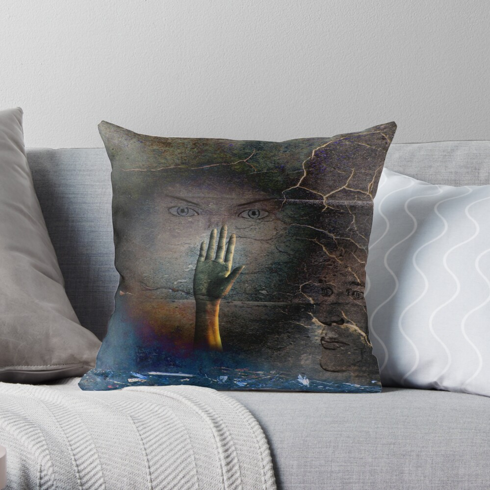 Remembrance of Night Throw Pillow