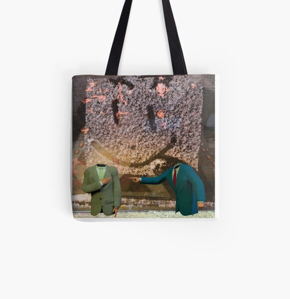 Politics As Usual All Over Print Tote Bag