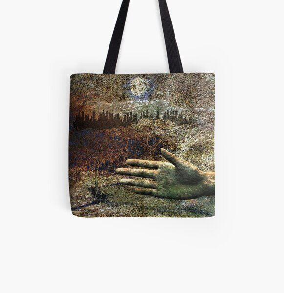 Nature and Society All Over Print Tote Bag