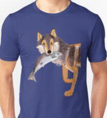 Totem Coastal wolf (Vancouver Wolf) Unisex T-Shirt